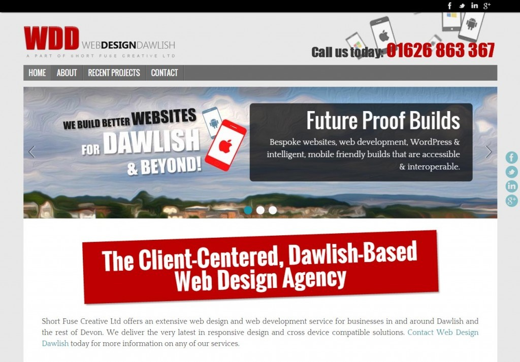 Web Designs Dawlish