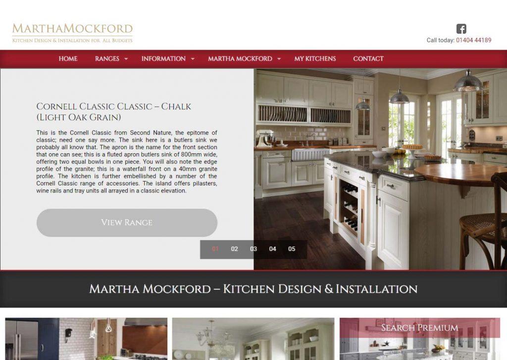 Martha Mockford Kitchens website