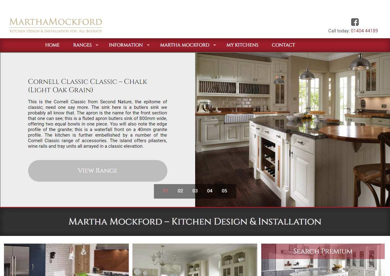 Martha Mockford Kitchens website