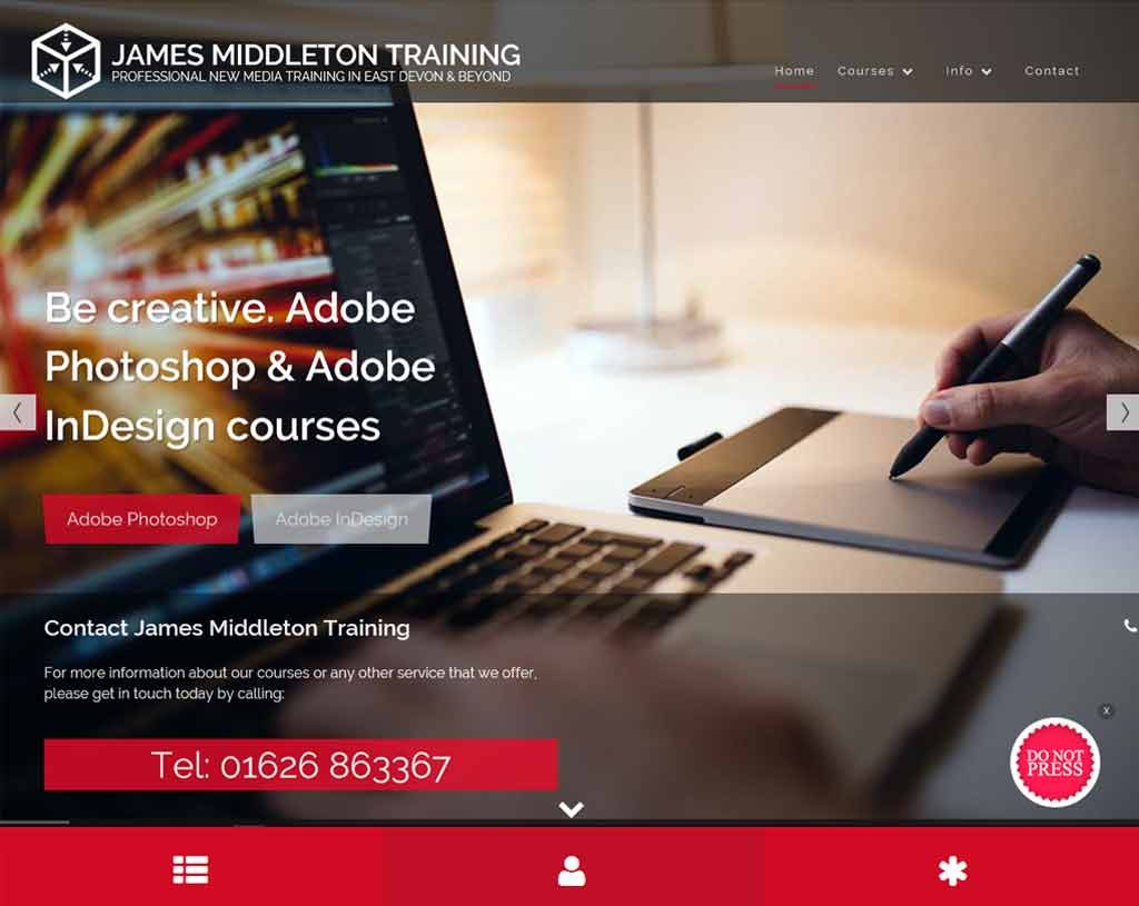 James Middleton Training - New Media, Devon