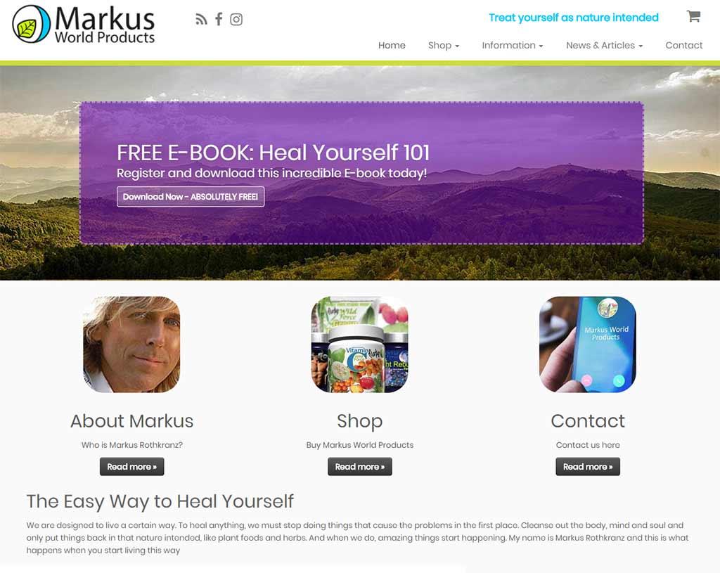 Markus World Product [E-commerce]
